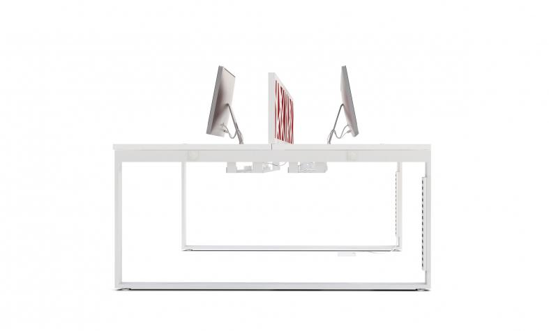STOCK Büroeinrichtungen - Schreibtische mit Schiebetischplatten und ...